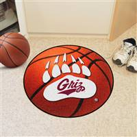 "Montana Grizzlies Basketball Rug 29"" diameter"