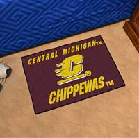 "Central Michigan Chippewas Starter Rug 20""x30"""
