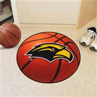 "Southern Mississippi USM Golden Eagles Basketball Rug 29"" diameter"