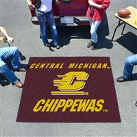 "Central Michigan Chippewas Tailgater Rug 60""x72"""