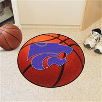 "Kansas State Wildcats Basketball Rug 29"" diameter"