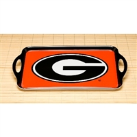 Georgia Bulldogs Melamine Serving Tray