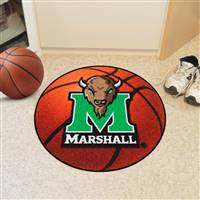 "Marshall Thundering Herd Basketball Rug 29"" Diameter"