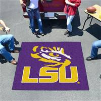 "Louisiana State LSU Tigers Tailgater Rug 60""x72"""