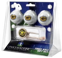 Grambling State University Tigers 3 Ball Gift Pack w/ Cap Tool