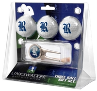 Rice University Owls3 Ball Gift Pack w/ Cap Tool