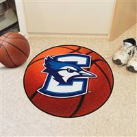 "Creighton Blue Jays Basketball Rug 29"" diameter"
