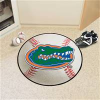 "Florida Gators Baseball Rug 29"" Diameter"