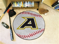 "US Military Academy Baseball Rug 29"" diameter"