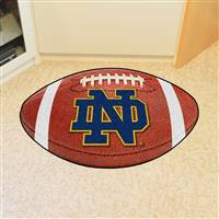 "Notre Dame Fighting Irish Football Rug 22""x35"""