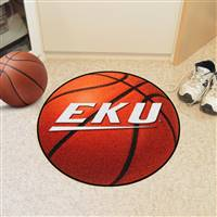 "Eastern Kentucky Colonels Basketball Rug 29"" diameter"