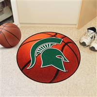 "Michigan State Spartans Basketball Rug 29"" Diameter"
