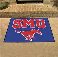 "Southern Methodist Mustangs All-Star Rug 34""x45"""