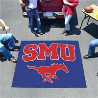 "Southern Methodist Mustangs Tailgater Rug 60""x72"""
