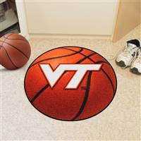 "Virginia Tech Hokies Basketball Rug 29"" diameter"