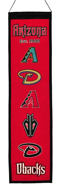Arizona Diamondbacks Heritage Wool Banner