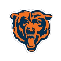 Chicago Bears Diecut Window Film