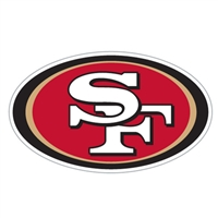San Francisco 49Ers Diecut Window Film