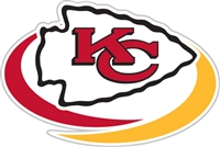 Kansas City Chiefs Diecut Window Film
