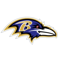 Baltimore Ravens Diecut Window Film