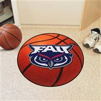 "Florida Atlantic Owls Basketball Rug 29"" Diameter"