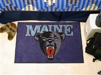 "Maine Black Bears Starter Rug 20""x30"""