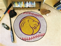 "North Alabama Baseball Rug 29"" Diameter"