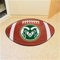 "Colorado State Rams Football Rug 22""x35"""