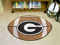"Georgia Bulldogs Football Rug 22""x35"""