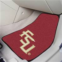 "Florida State Seminoles 2-piece Carpeted Car Mats 18""x27"""
