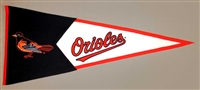 Baltimore Orioles Large Classic Wool Pennant