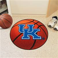 "Kentucky Wildcats Basketball Rug 29"" diameter"