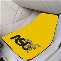 "Alabama State Hornets 2-piece Carpeted Car Mats 18""x27"""