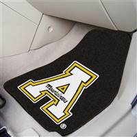 "Appalachian State Mountaineers 2-piece Carpeted Car Mats 18""x27"""