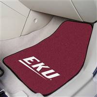 "Eastern Kentucky Colonels 2-piece Carpeted Car Mats 18""x27"""