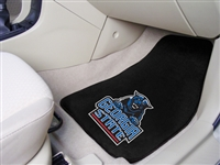 "Georgia State Panthers 2-piece Carpeted Car Mats 18""x27"""