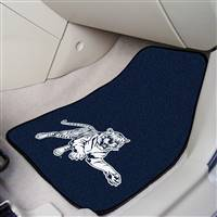 "Jackson State Tigers 2-piece Carpeted Car Mats 18""x27"""