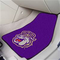 "James Madison Dukes 2-piece Carpeted Car Mats 18""x27"""