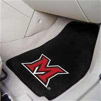 "Miami of Ohio 2-piece Carpeted Car Mats 18""x27"""
