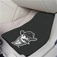 "New Mexico State (NMSU) Aggies 2-piece Carpeted Car Mats 18""x27"""