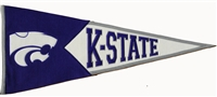Kansas State Wildcats (Mascot) Large Classic Wool Pennant