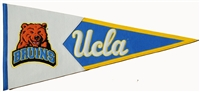 UCLA Bruins (Mascot Head) Large Classic Wool Pennant