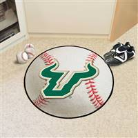 "South Florida Bulls Baseball Rug 29"" Diameter"