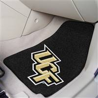 "Central Florida UCF Knights 2-piece Carpeted Car Mats18""x27"""