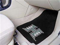 "Hawaii Warriors 2-piece Carpeted Car Mats 18""x27"""