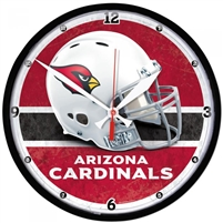Arizona Cardinals NFL Round Wall Clock