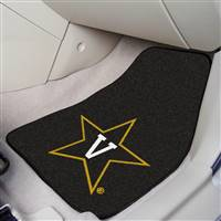 "Vanderbilt Commodores 2-piece Carpeted Car Mats 18""x27"""