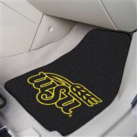 "Wichita State Shockers 2-piece Carpeted Car Mats 18""x27"""