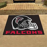 "Atlanta Falcons Allstar Rug 34""x45"", Black"