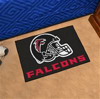 "Atlanta Falcons Starter Rug 20""x30"", Black"
